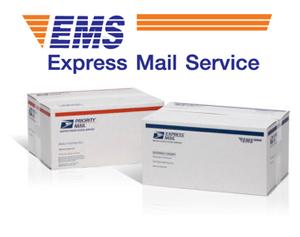 Доставка осуществляется EMS - Express Mail Service