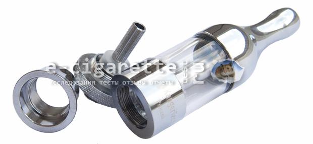 Kanger ProTank имеет нижнее расположение нагревающей спирали - BCC - bottom coil changeable