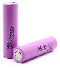 Аккумуляторная батарея 18650 Samsung для мода Joyetech eVic