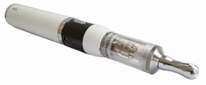 Белый корпус мода Joyetech eVic с клиромайзером Vivi Nova