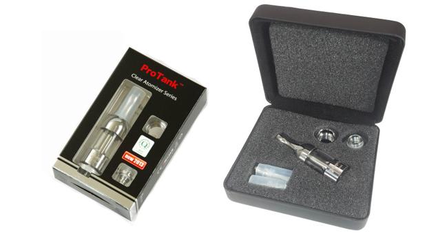 Комплект Kanger Protank поставляется в двух вариантах упаковок
