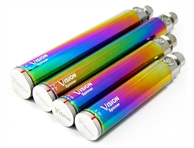 Аккумуляторы Visiomn Spinner Rainbow